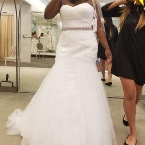 Mermaid style wedding dress
